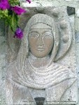 St Clare, Bas relief, Assisi, Italy...by Paul Kimmeling